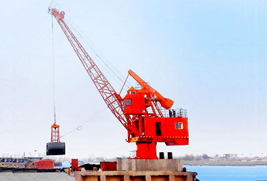 3t~100t Wharf Loading And Unloading Floating Crane